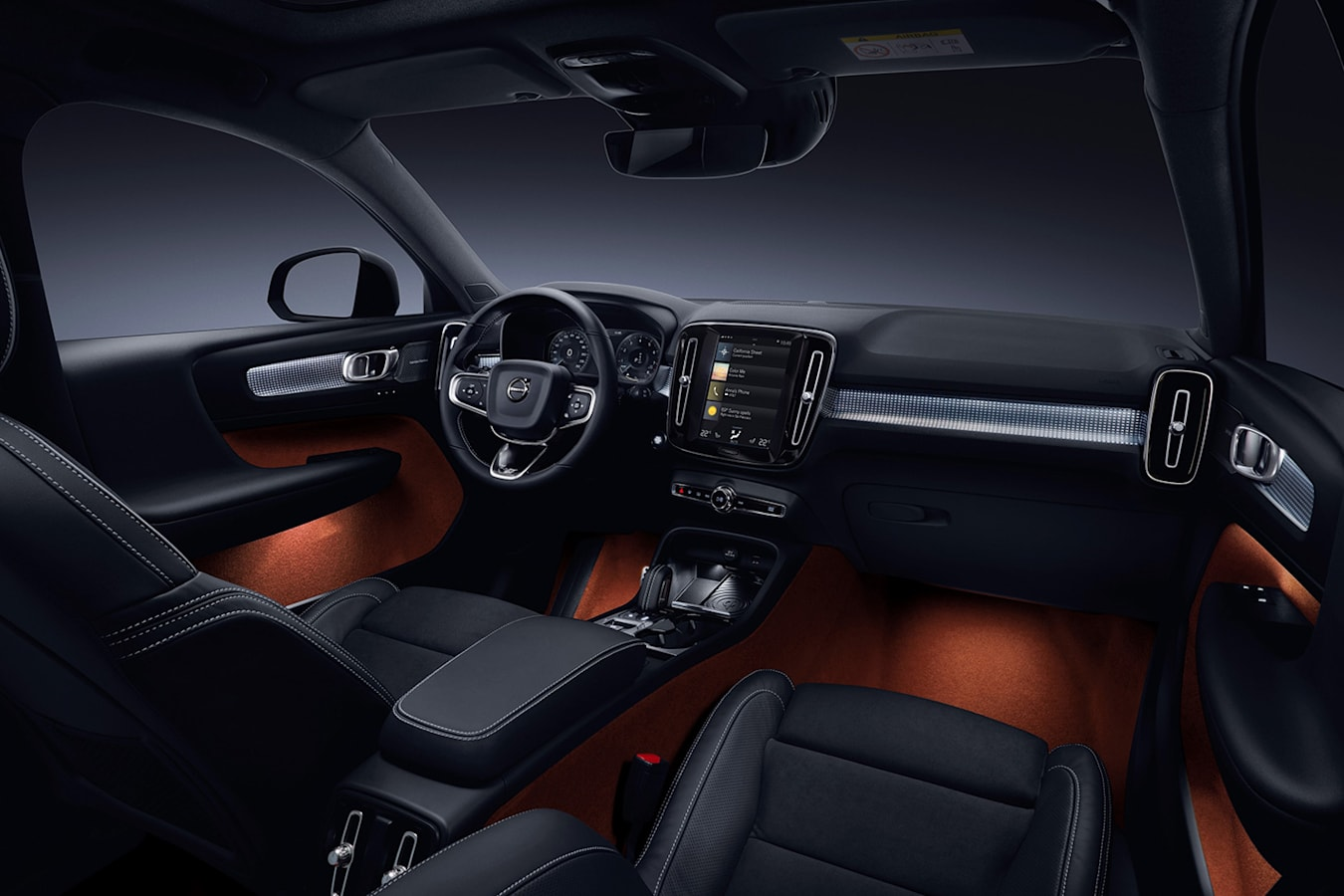 Volvo Xc 40 Interior Jpg