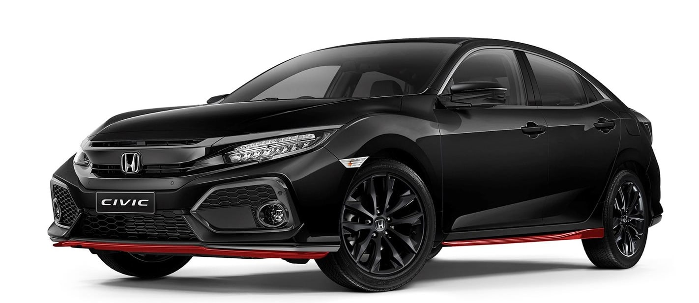 Honda Civic 'Red Edition' style pack announced