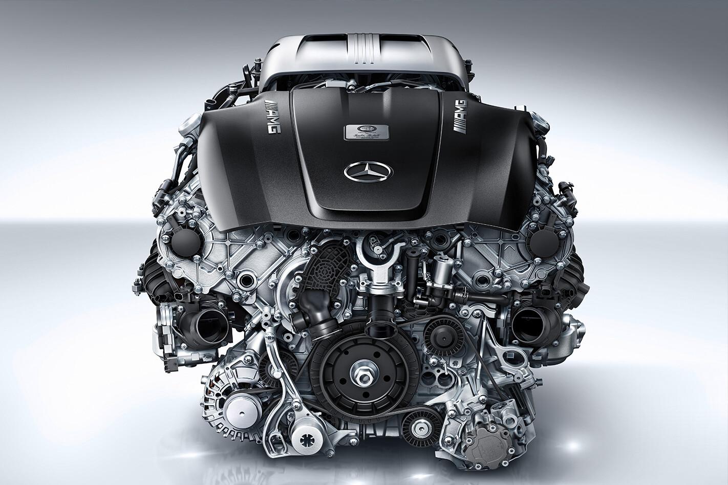 Amg V 8 Engine Jpg
