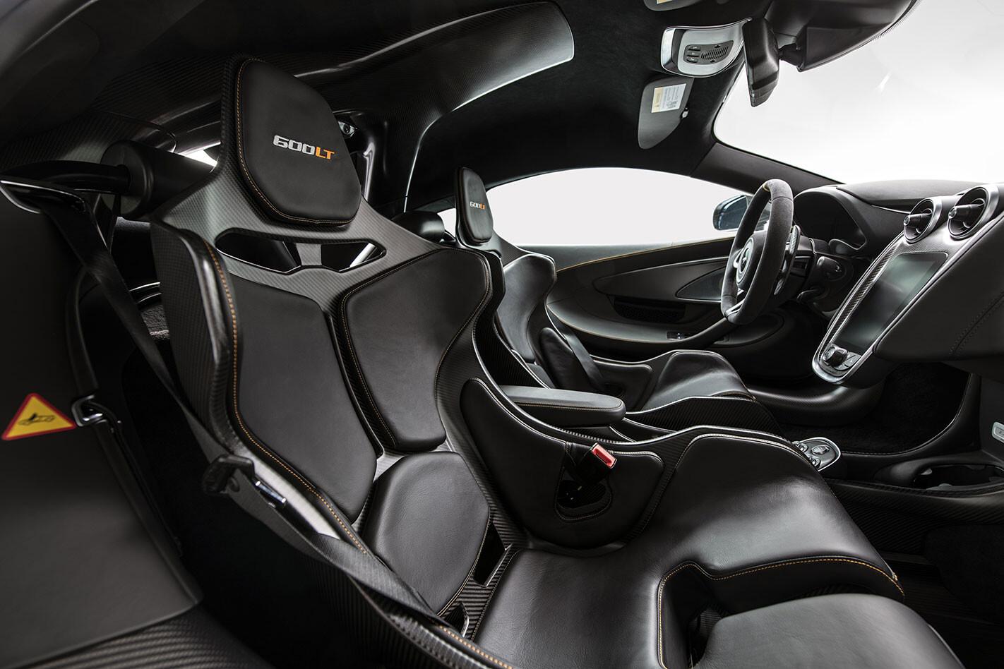 McLaren 600LT MSO interior