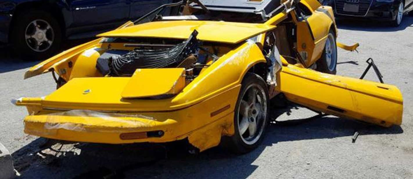 US auction salvage supercars