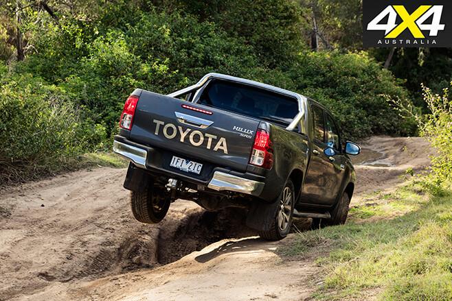 Toyota hilux sr5 rear