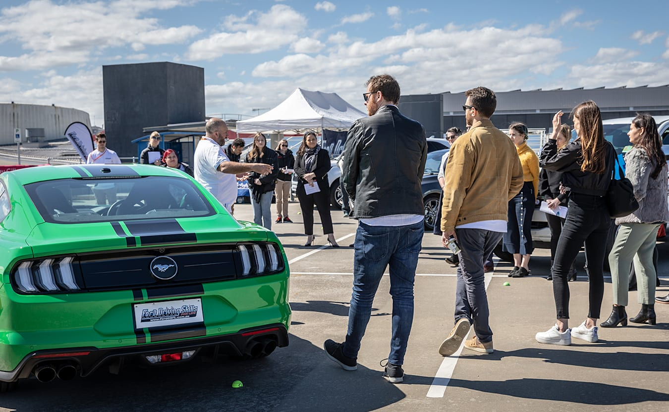 Ford Mustang driver skills for life course