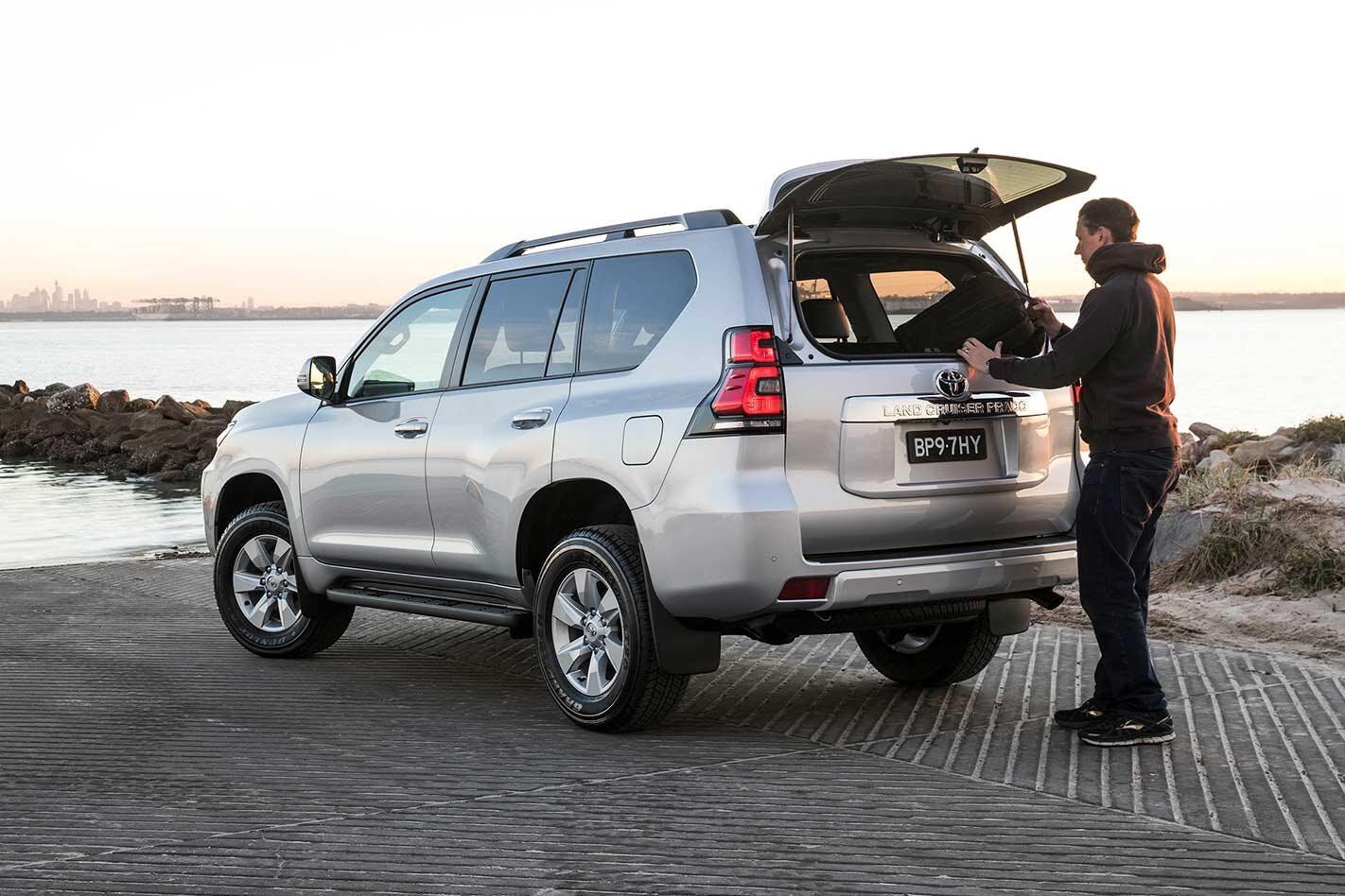 Toyota Prado new options DPF switch