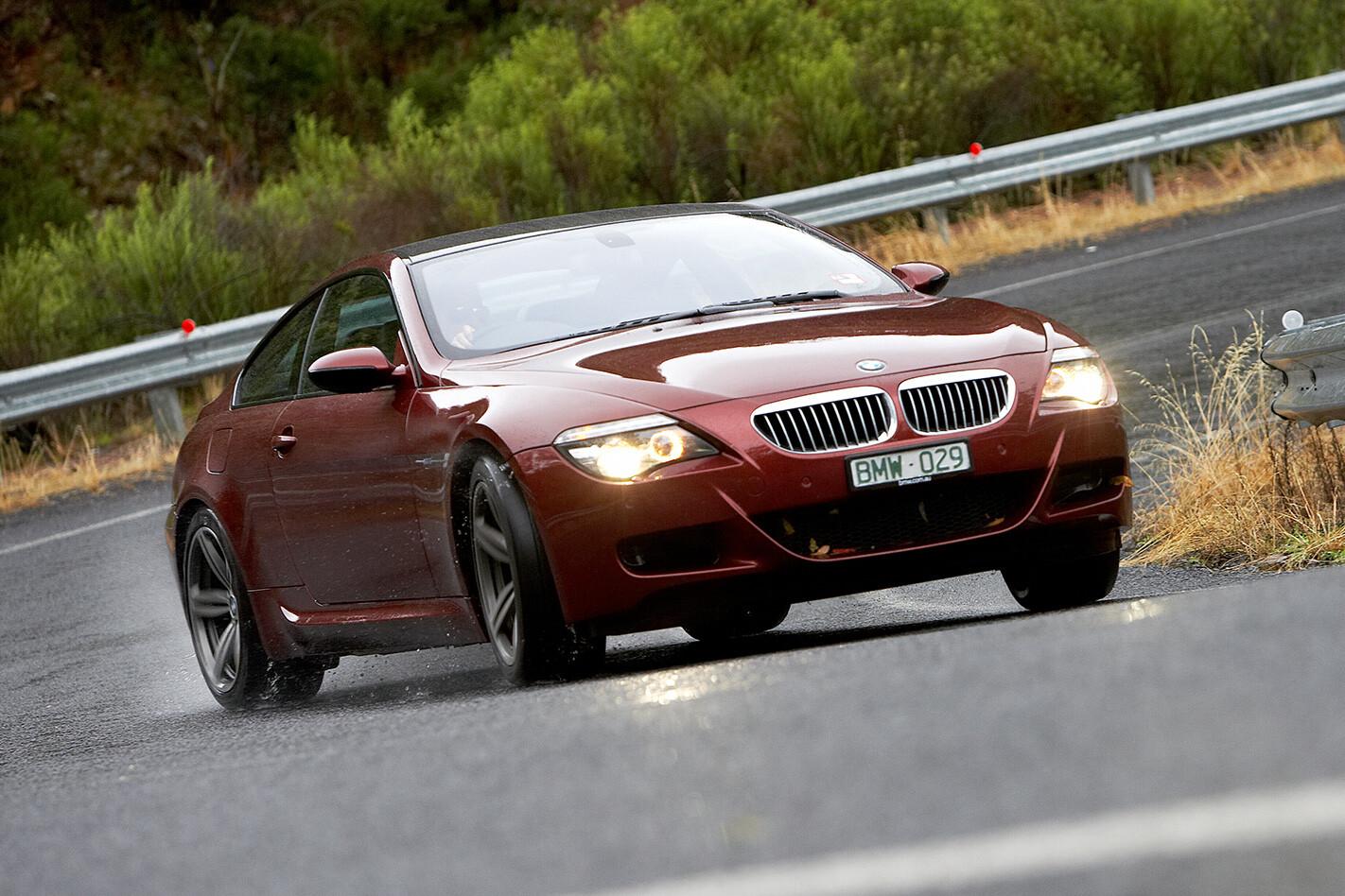 2008 BMW M6 front