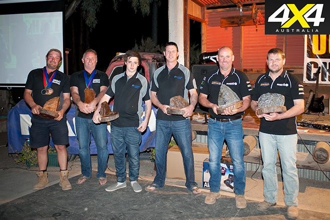 Winners of outback challenge