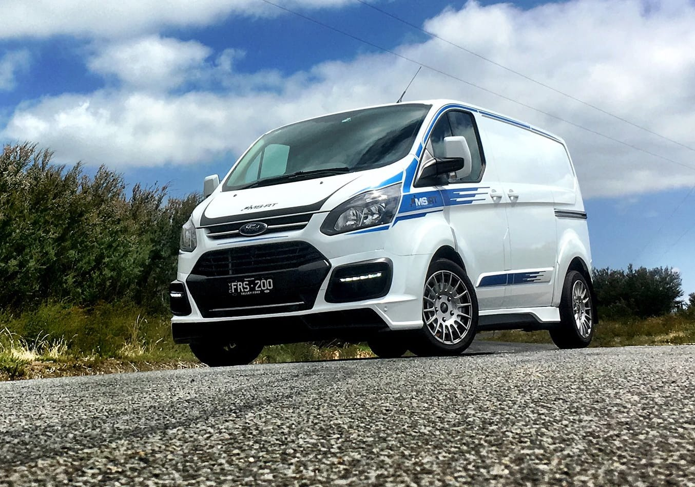 MS-RT Ford Transit first drive review