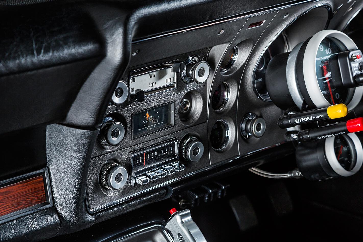 Ford Falcon XY dash