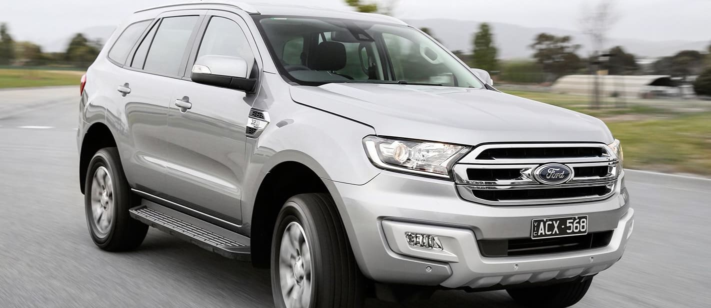 Ford Everest Driving Front Jpg
