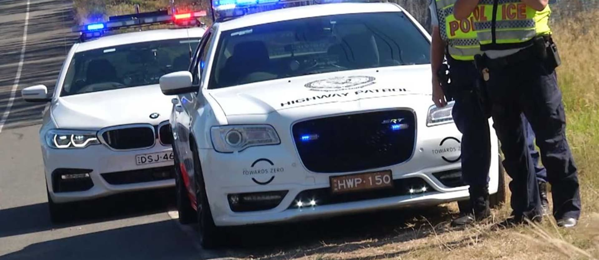Chrysler 300 SRT BMW 530d for NSW Police