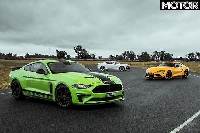 Mustang Camaro Supra