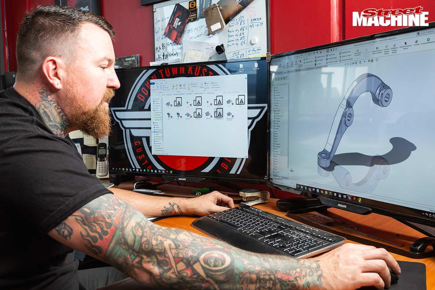 3D printing steering arm