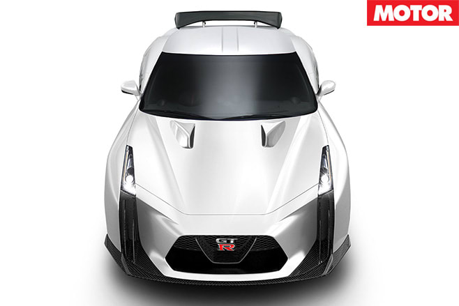 Nissan R36 GT-R front