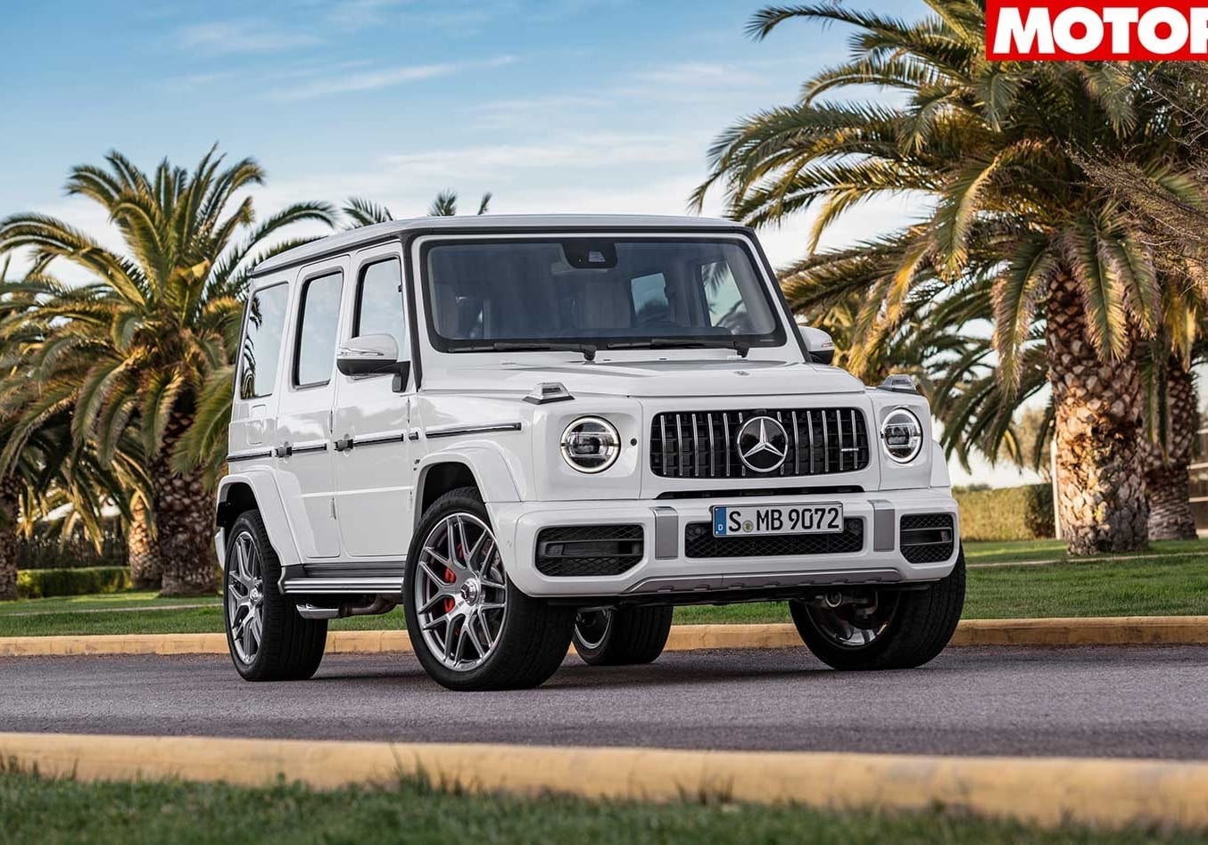Mercedes AMG G63 pricing revealed front