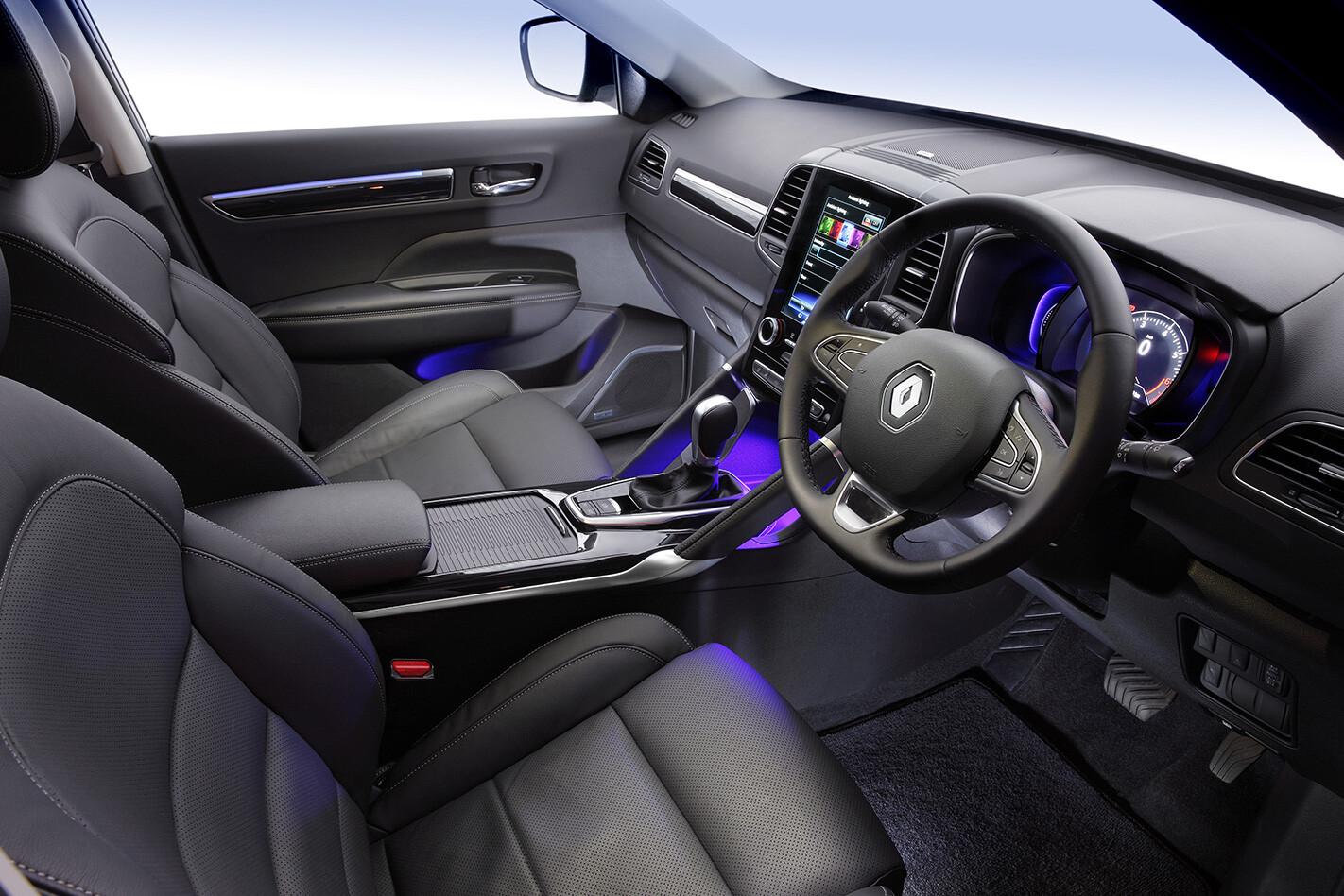 Renault Koleos Interior Jpg
