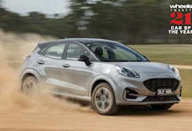 Ford Puma at Car of the Year 2021