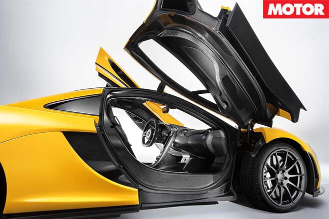 McLaren P1 2014 door
