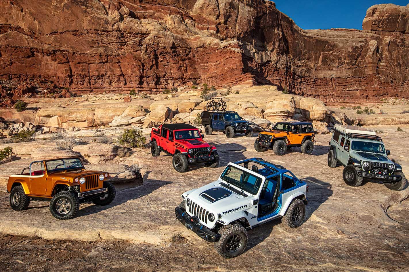 2021 Easter Jeep Safari concepts