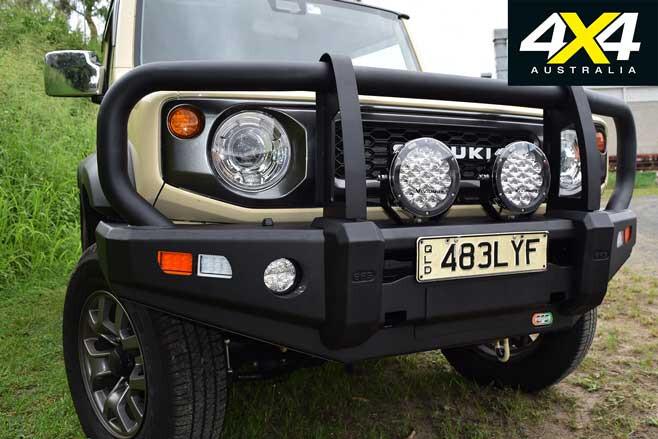 EFS 4 X 4 Adventure Stockman Bullbar Suzuki Jimny Jpg