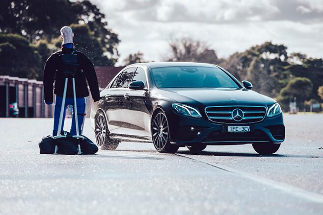 Mercedes-Benz E-Class autonomous driving system