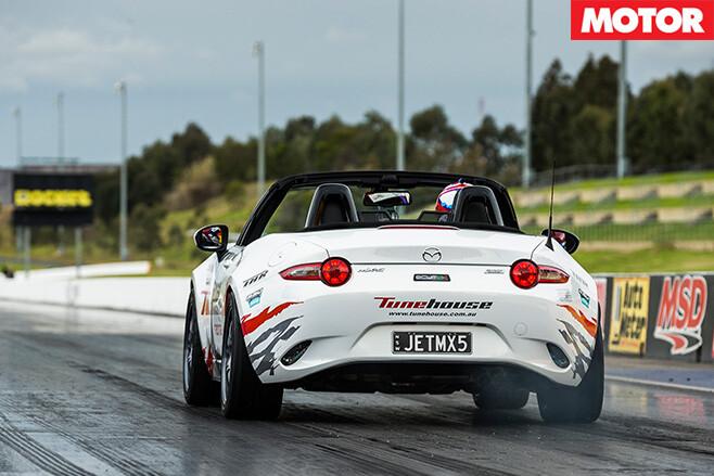 Tunehouse Mazda MX-5 ND rear