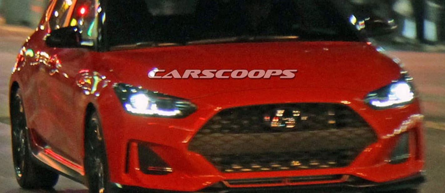 2018 Hyundai Veloster spied without camo ahead of official reveal