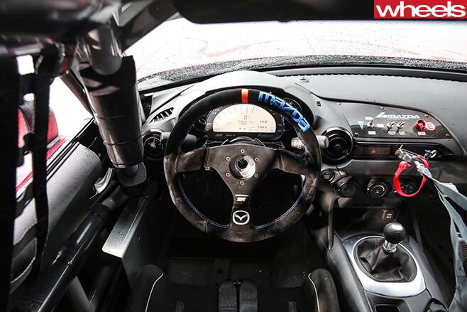 Mazda -MX-5-Cup -interior