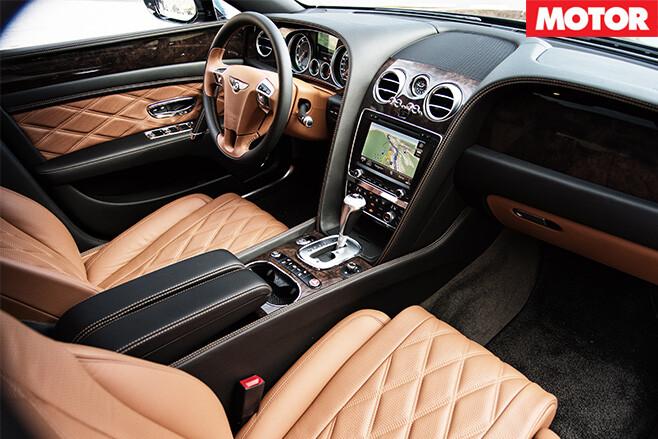 Bentley continental flying spur interior