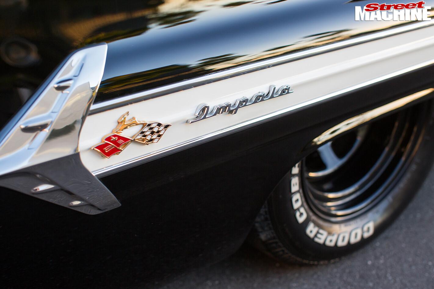 Chevrolet -impala -badge
