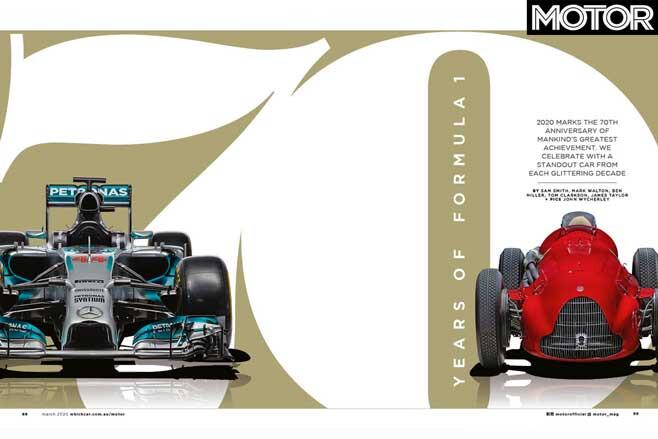 MOTOR Magazine March 2020 Issue Formula One Jpg