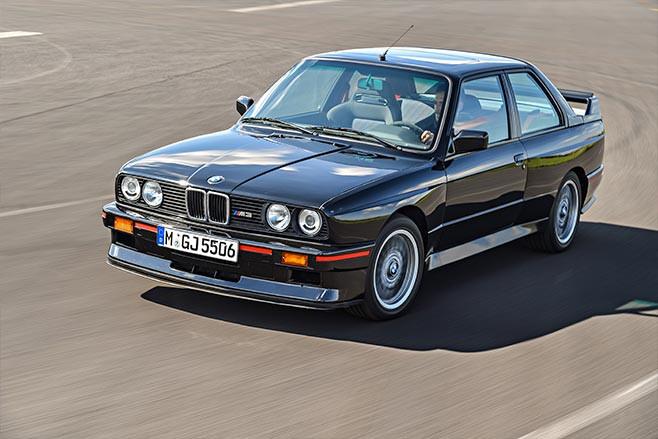 BMW E30 M3 Sport Evolution above