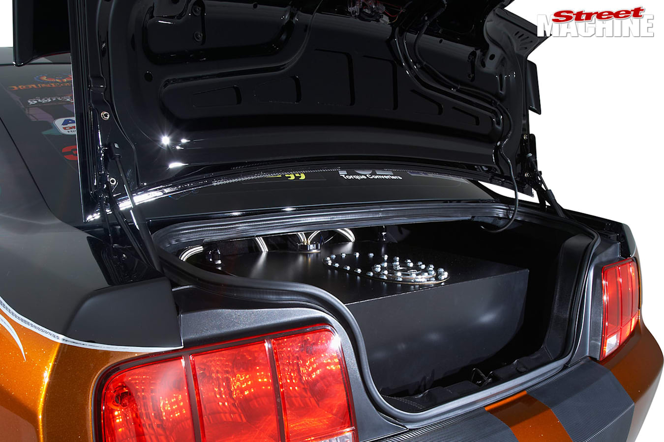 Ford Mustang boot