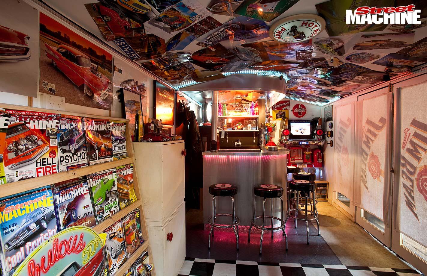 Shane Harkess's garage