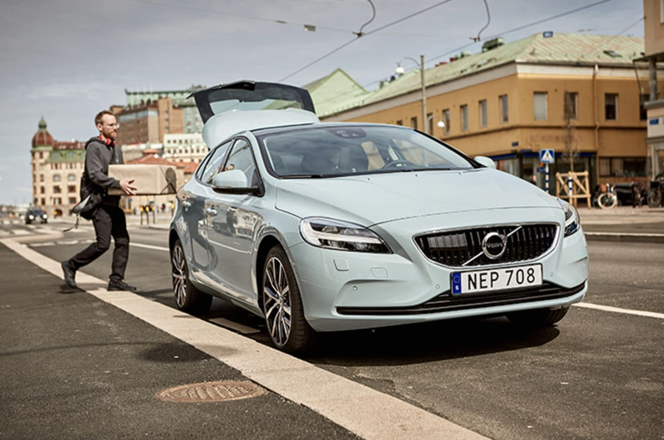 Volvo Micropayments Delivery Front Quarter Jpg