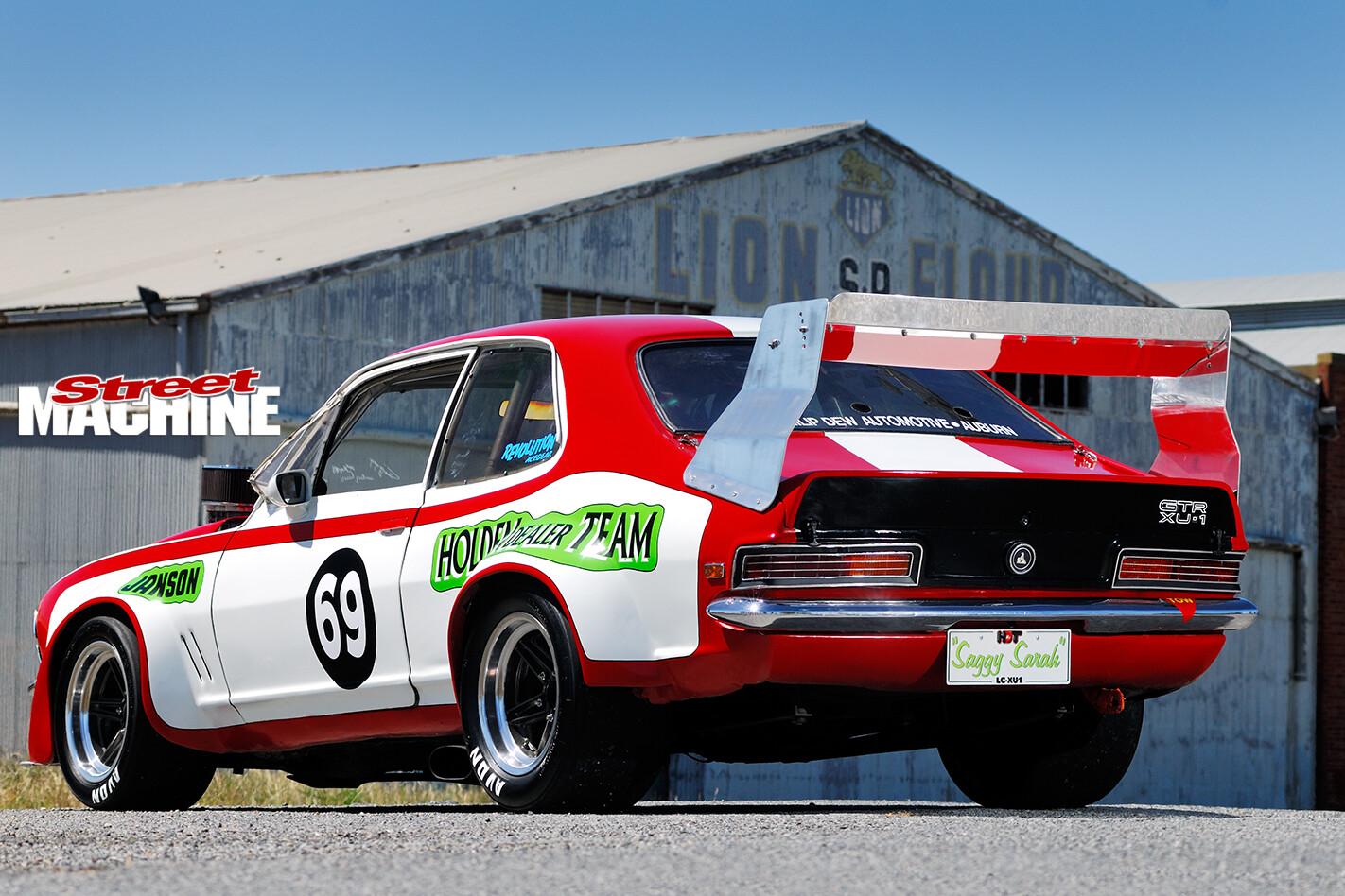 Holden -Torana -XU1-Saggy -Sarah -rear