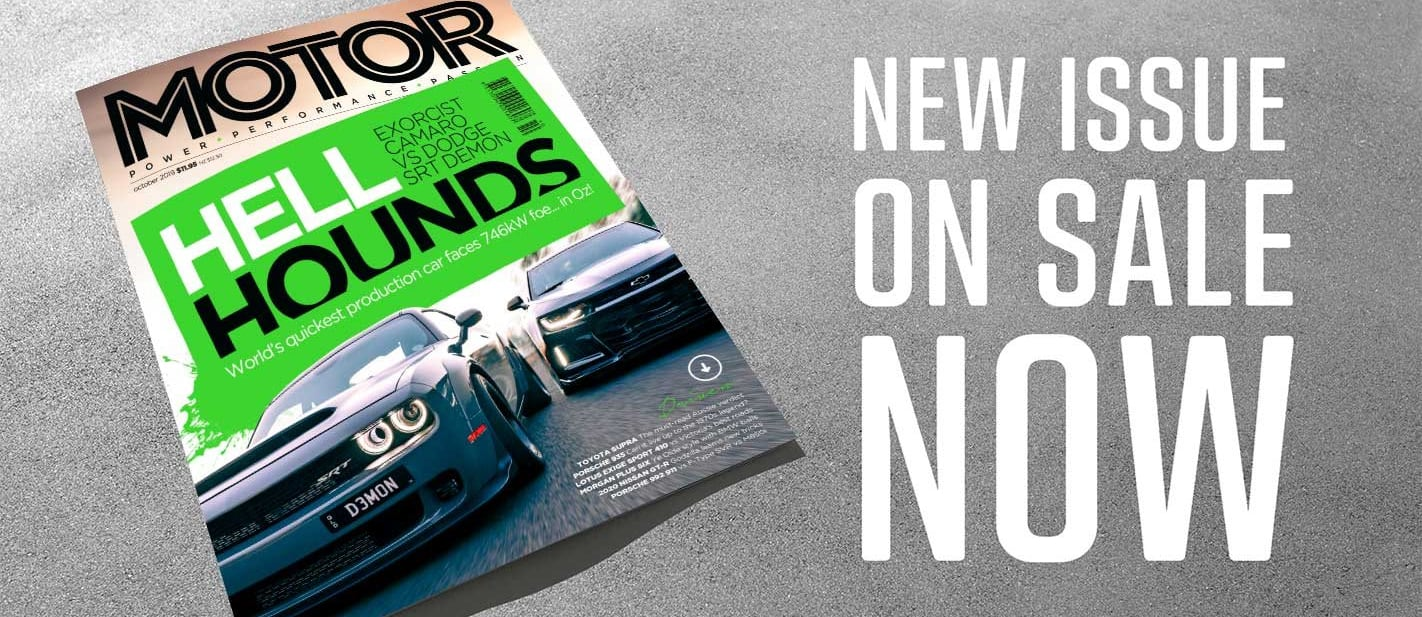 MOTOR Magazine October 2019 issue preview