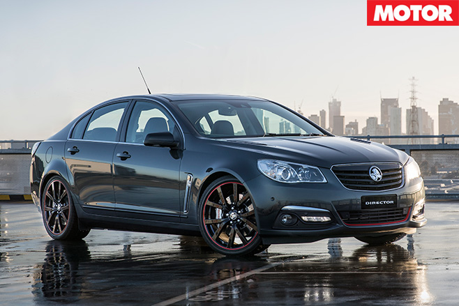 2017 Holden Director review front