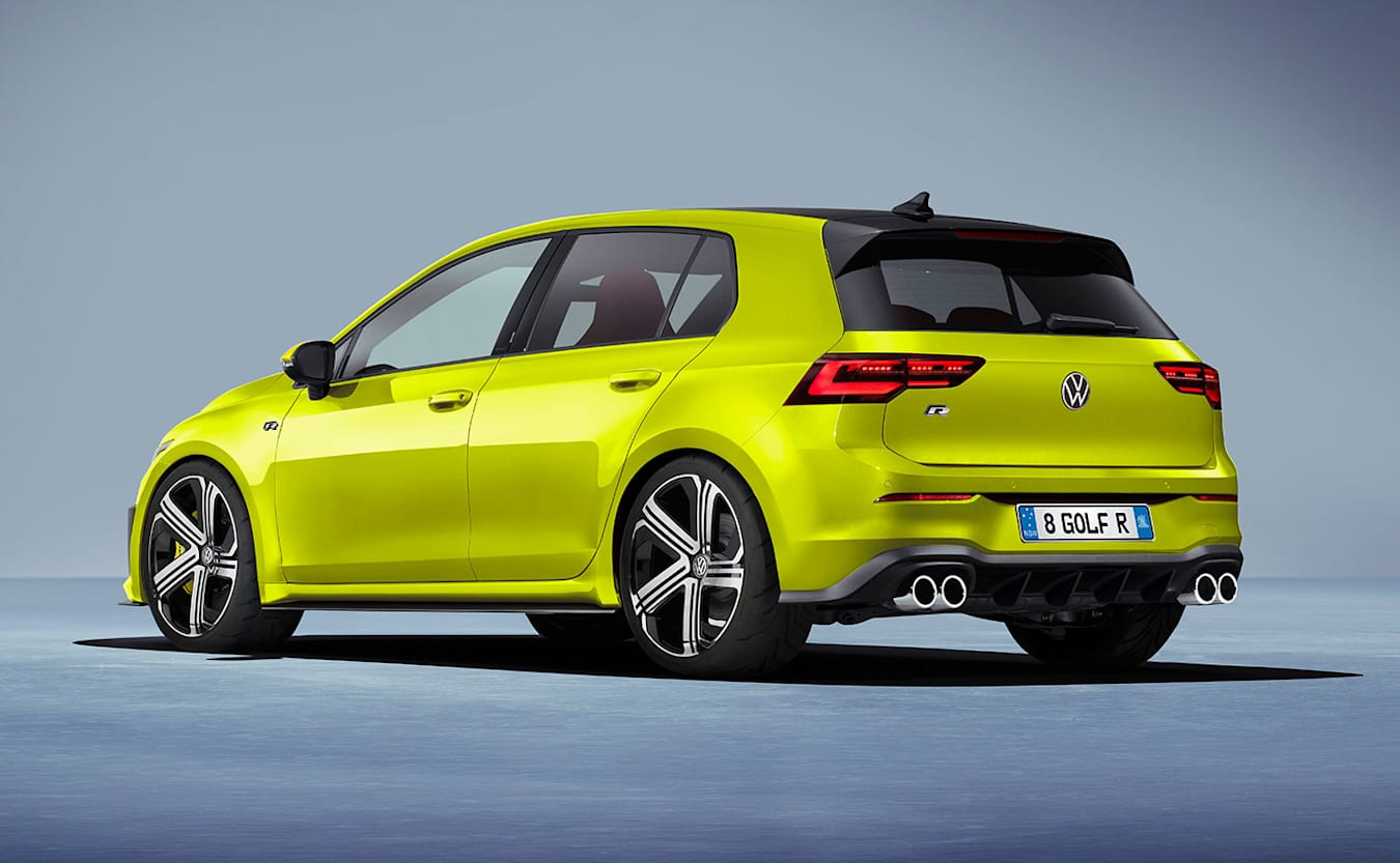 VW Golf R Plus rear - computer generated image