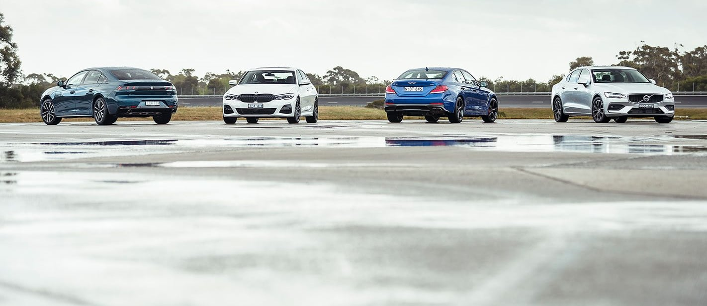 Sedans in the running for Wheels Car of the Year 2020
