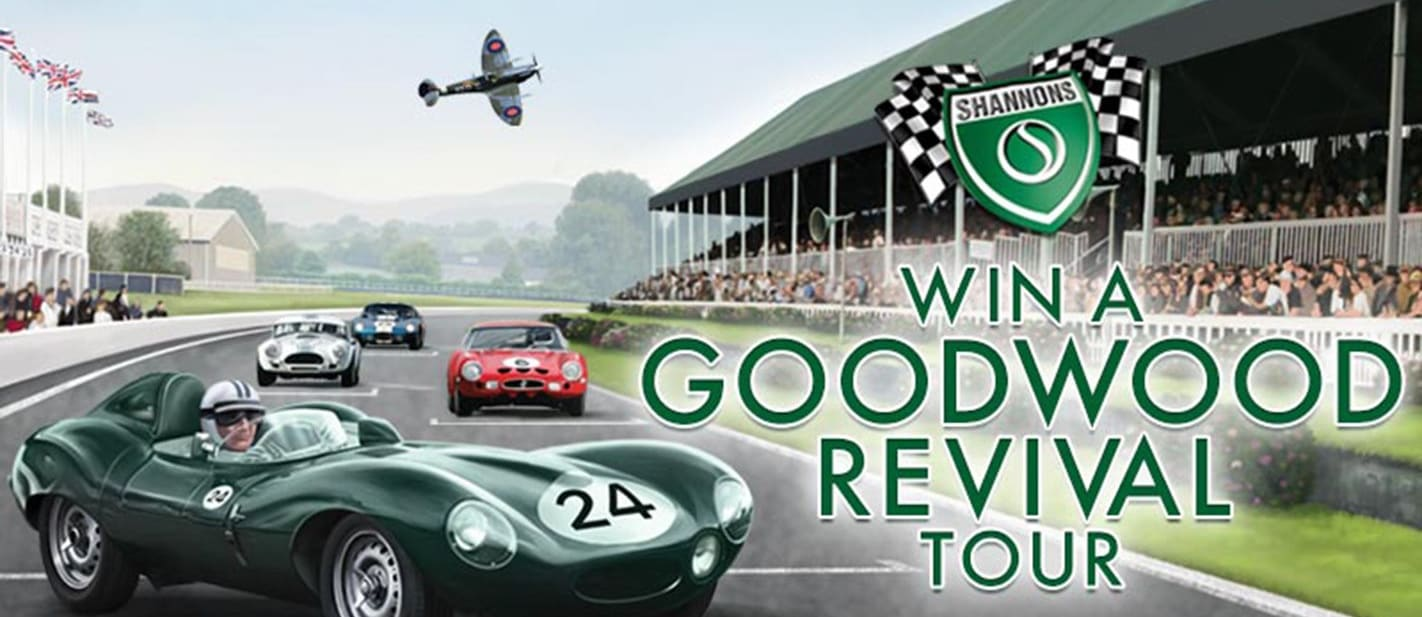 WIN A TRIP ON THE 2015 GOODWOOD REVIVAL TOUR