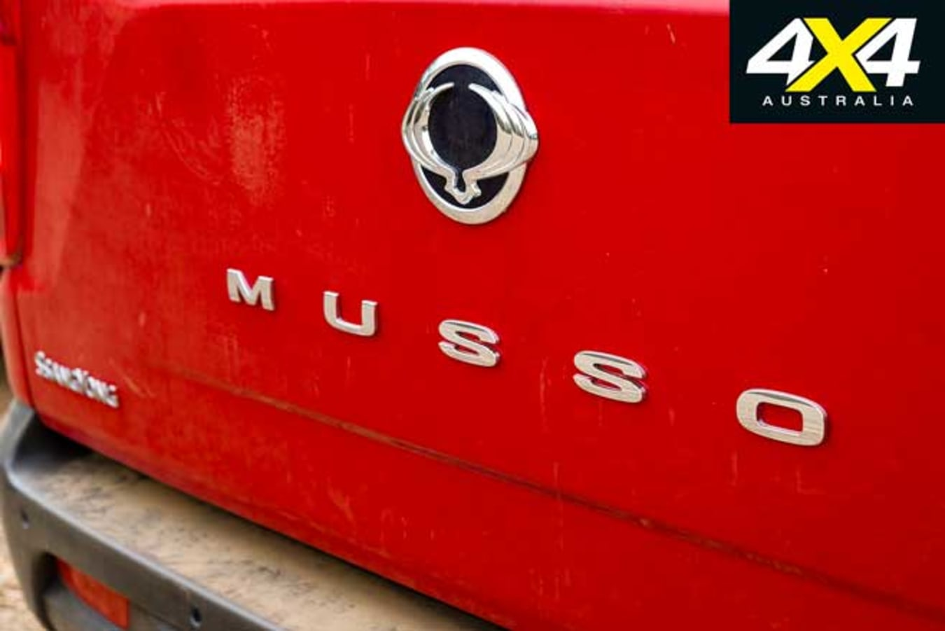 2020 4 X 4 Of The Year Ssangyong Musso XLV Ultimate Badge Jpg
