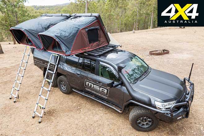 MSA 4 X 4 Toyota Land Cruiser 200 6 X 6 Project Super Cruiser Camping Setup Jpg
