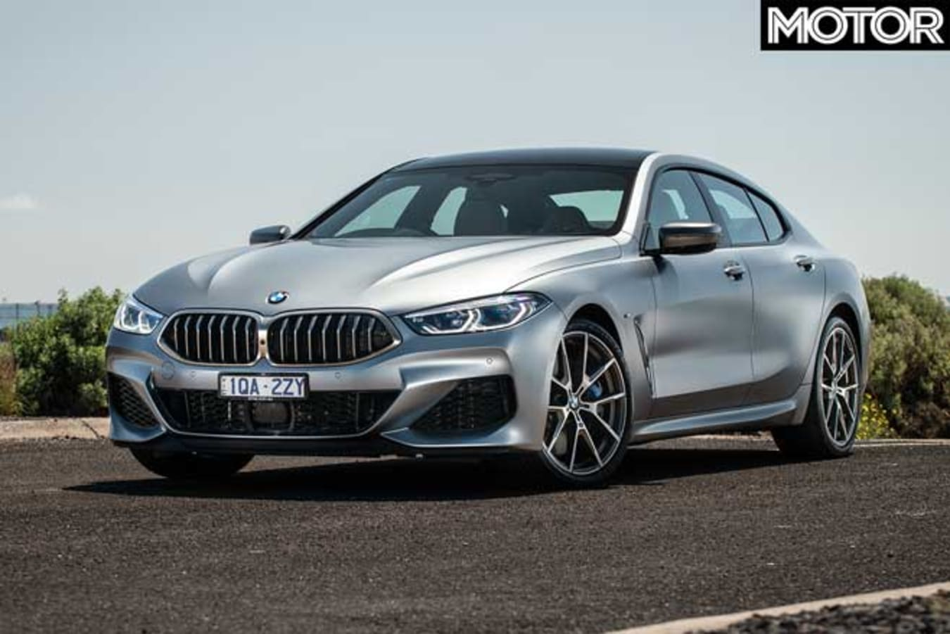 BMW M 850 I Gran Coupe Front Jpg