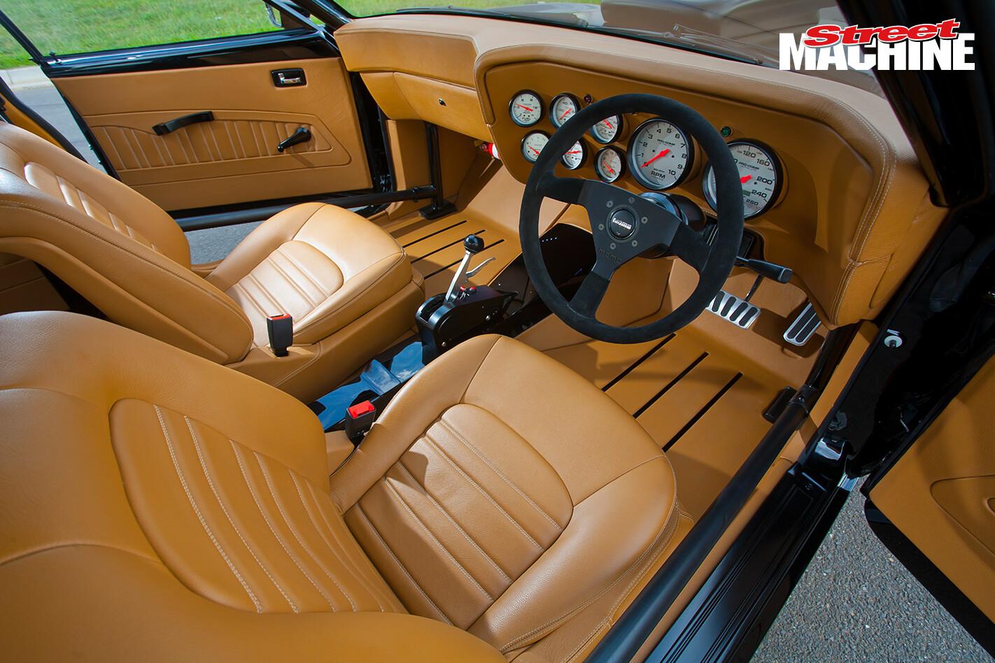 XB Falcon Sedan Interior