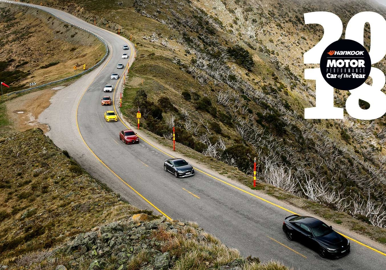 Performance Car of the Year 2018 On the Road feature