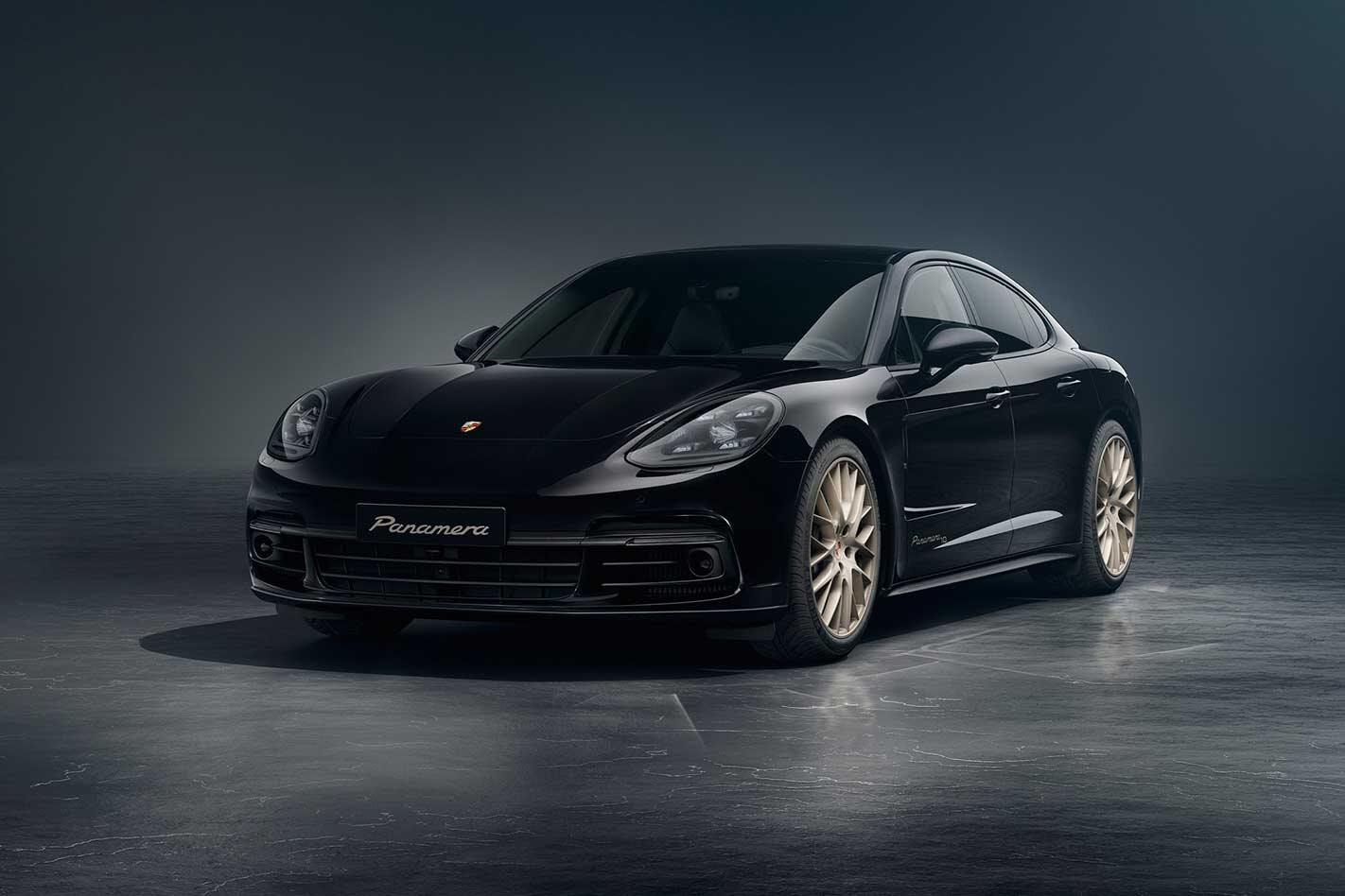 Porsche Panamera 10 Years Edition revealed