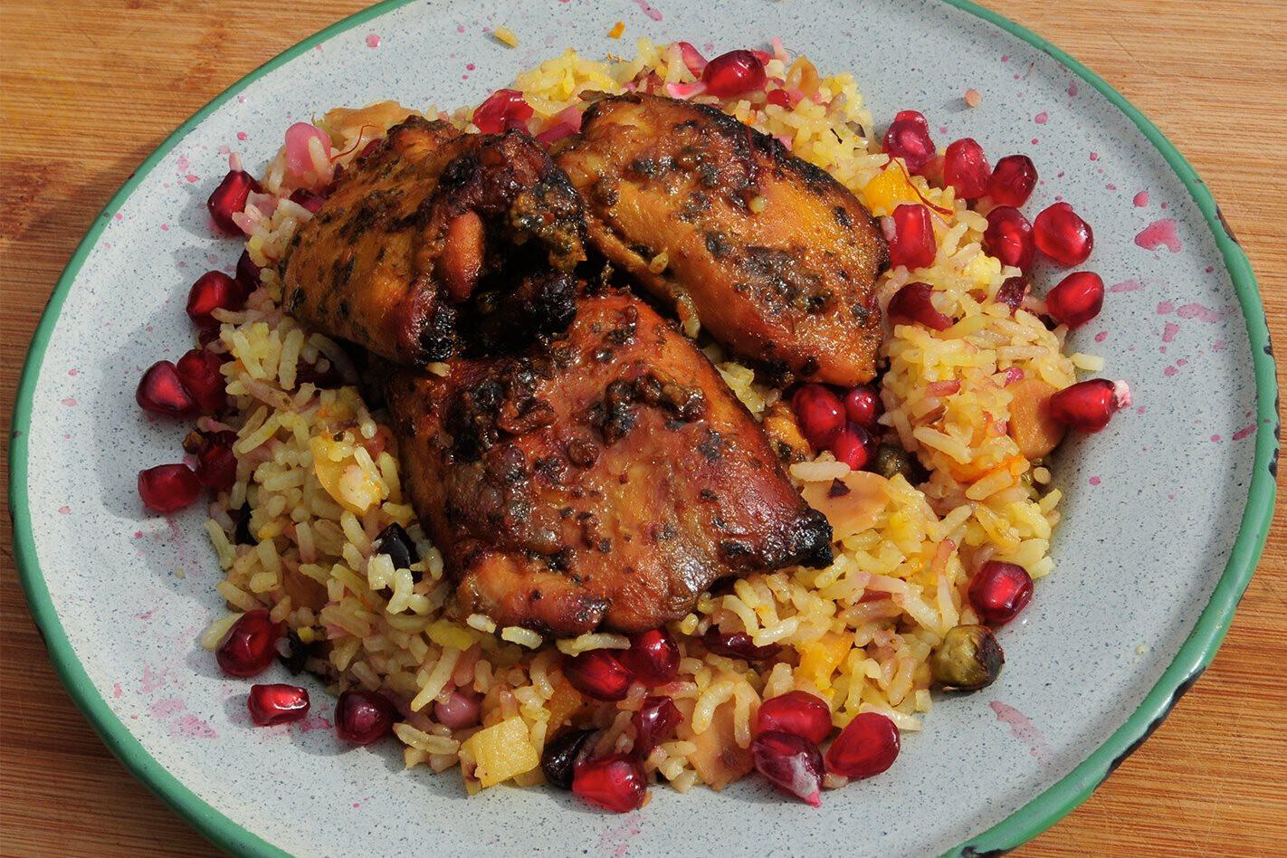 Recipe Persian style rice main