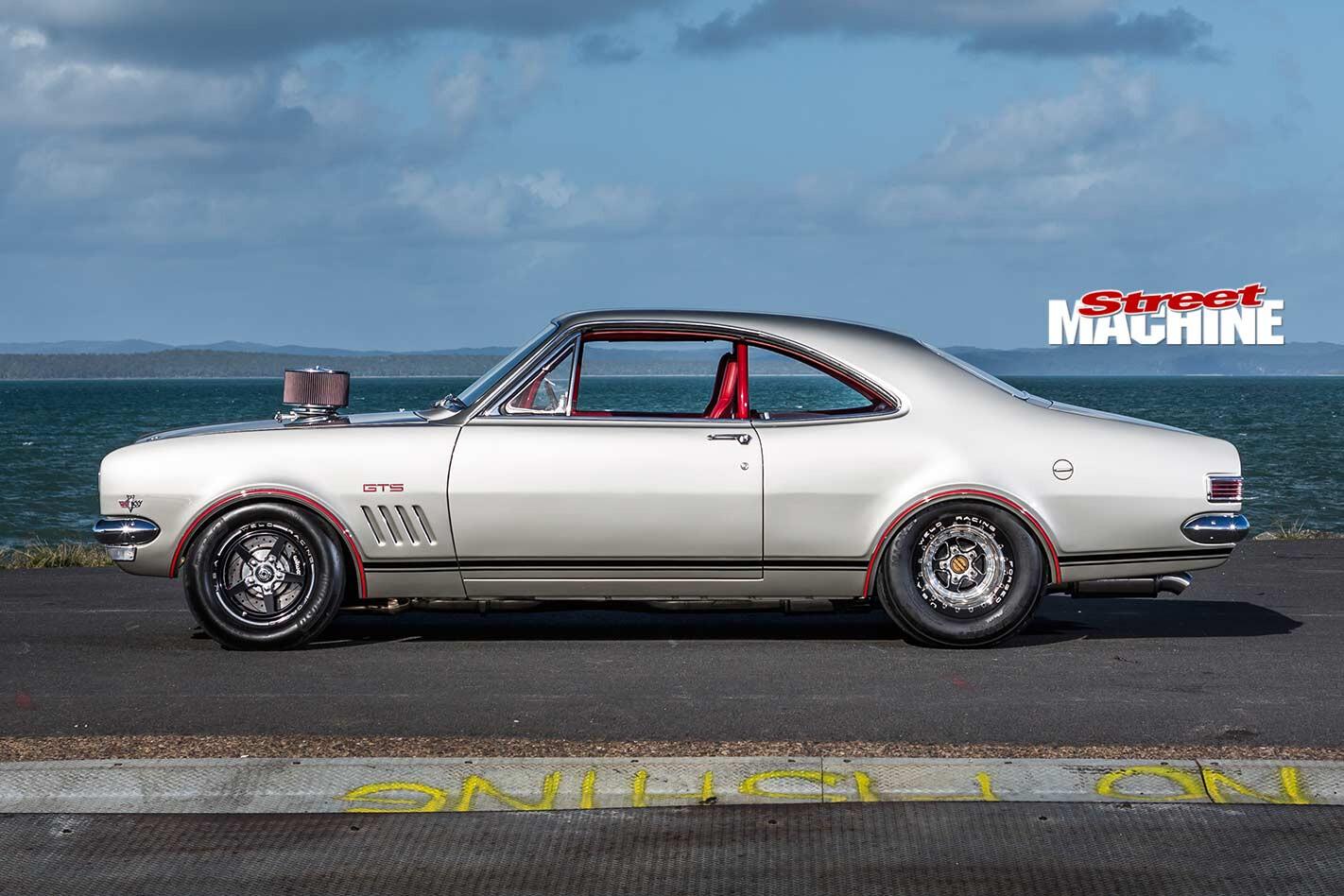 Holden HK Monaro side
