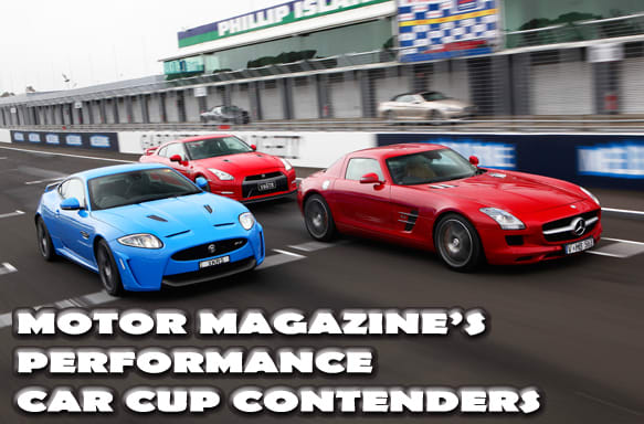 MOTOR Magazines Performance Car Cup 2011 Contenders