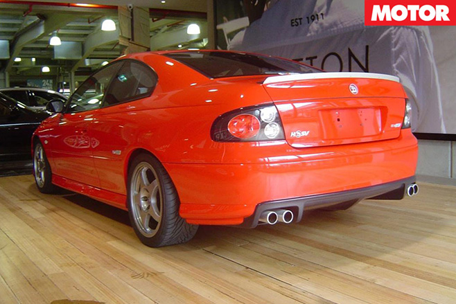 Holden Monaro HRT 427 rear
